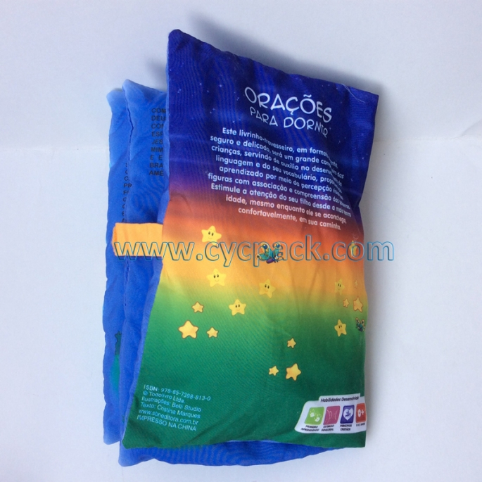 Educational Fabric Pillow Story Book (2)