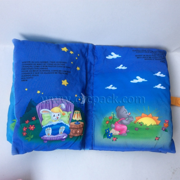 Educational Fabric Pillow Story Book (3)