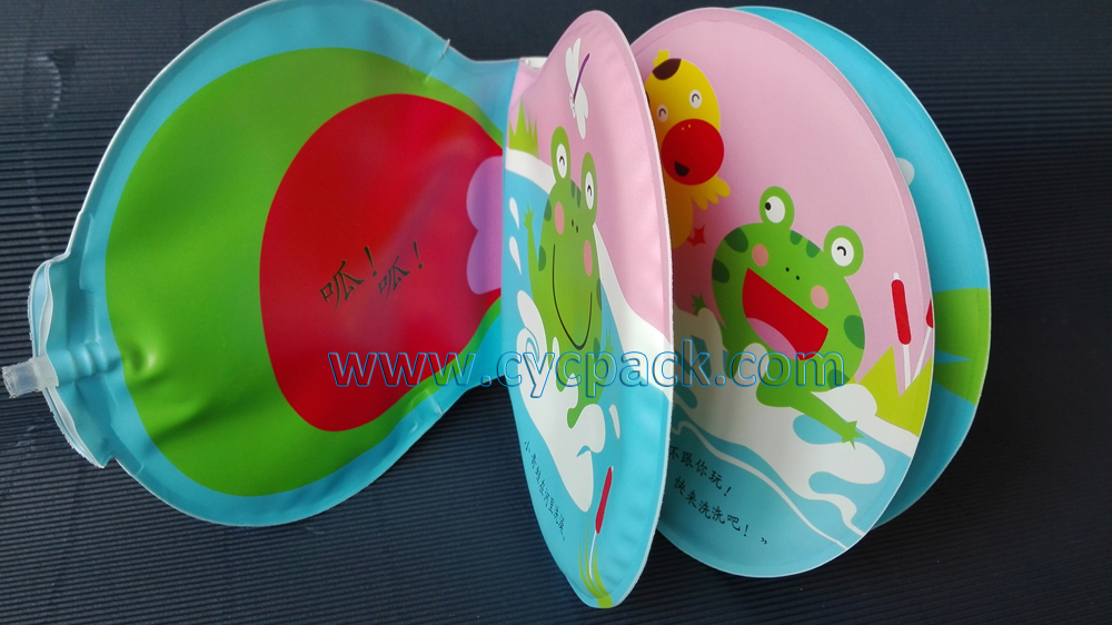 Frog Bath Book with Water Flute (2)