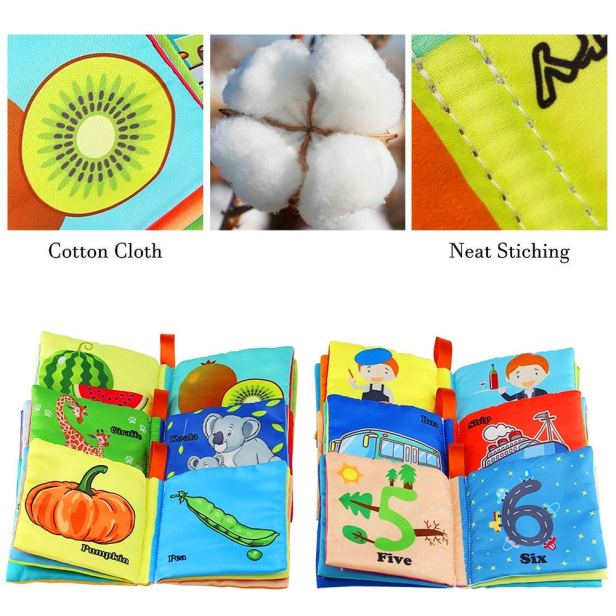 Cloth Book for Toddlers (5)