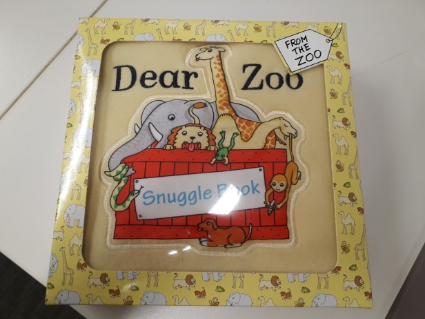 Cloth Book with embroidery logo (1)-
